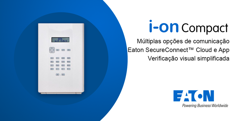 Central de Alarme I-ON COMPACT | WI-FI – Eaton