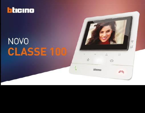Novo Classe 100: posto interno áudio e vídeo