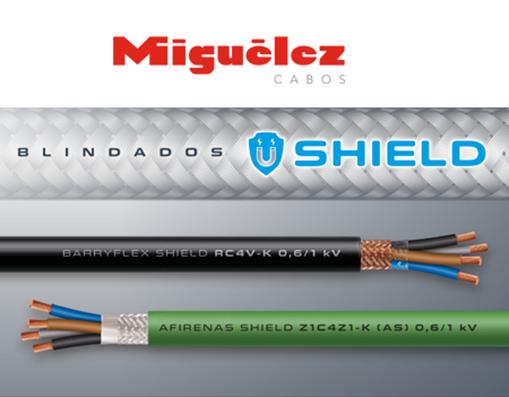 SHIELD - Proteção eficaz contra interferências em cabos elétricos da Miguelez